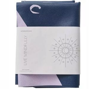 Anthropologie Live Mindfully travel yoga mat